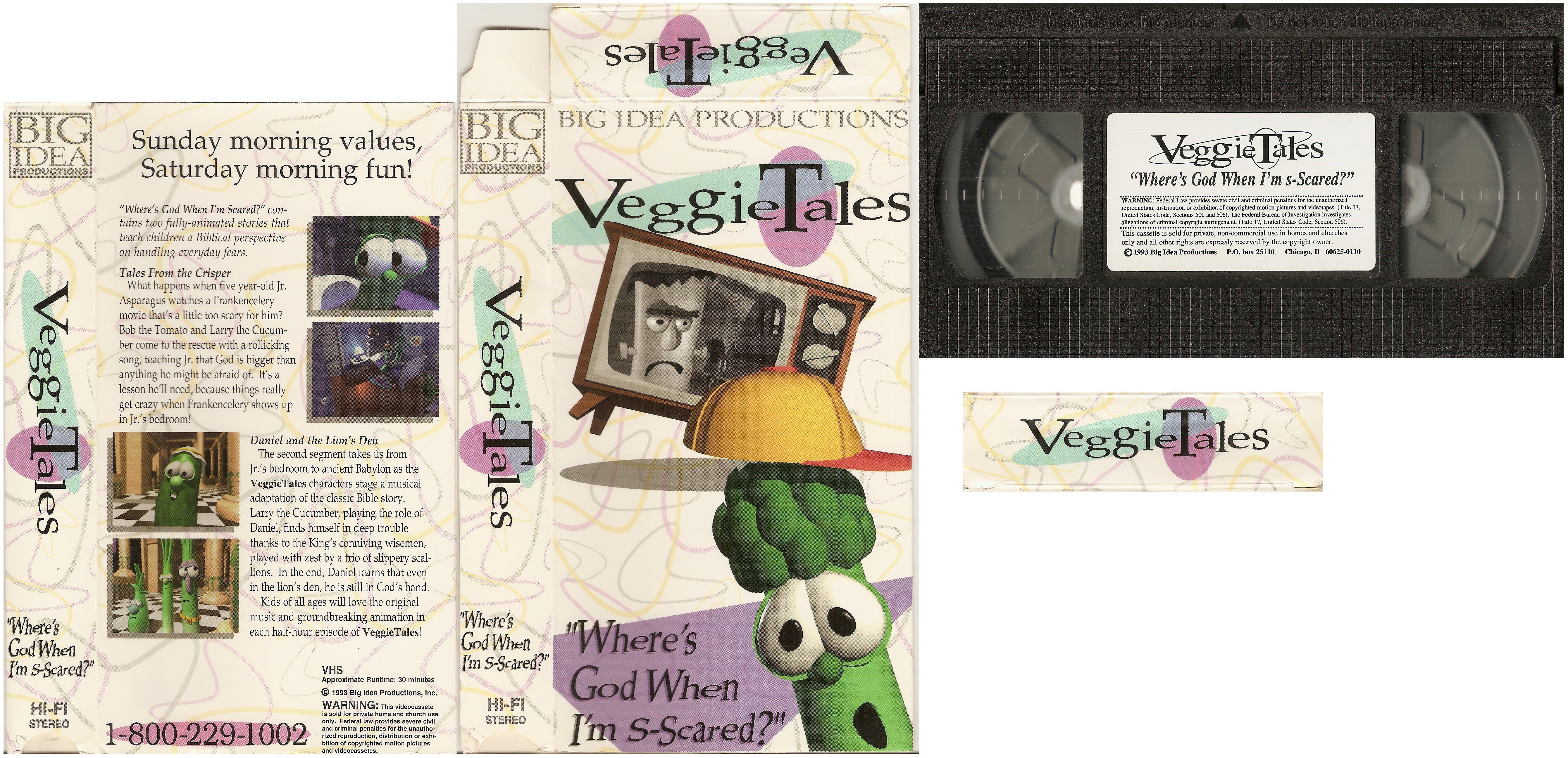 VeggieTales: Where's God When I'm S-Scared? (Original 1993 Version)
