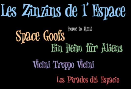Space Goofs (Various Dubs)