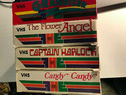 Anime-Bundle-Flower-Angel-Candy-Candy-Grandizer -Captain