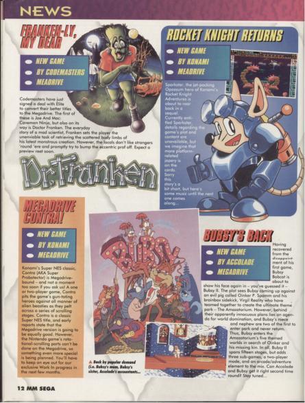 Dr.Franken (Cancelled Sega Genesis/Mega Drive Game)
