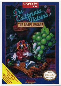 The California Raisins: The Grape Escape (Unreleased 1990 NES Game)
