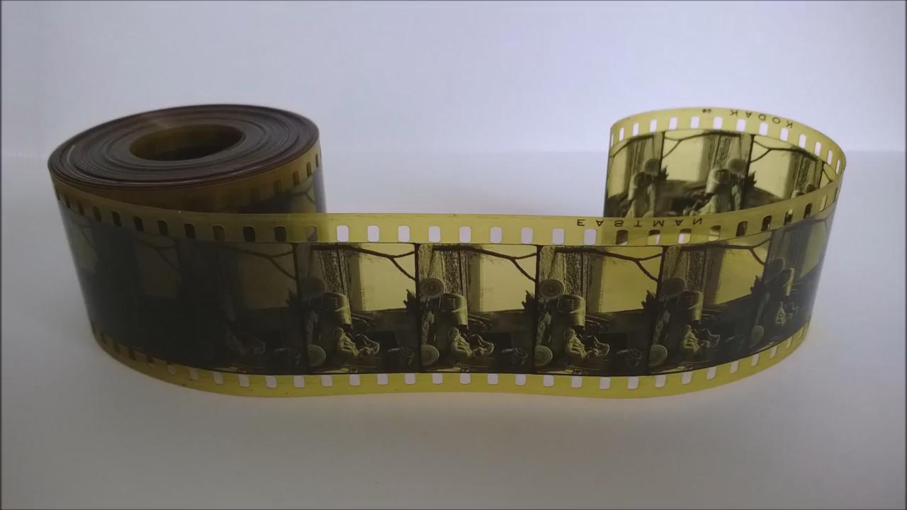 Il gigante, i serpenti e la formica (31ft Long 35mm Fragment Film)