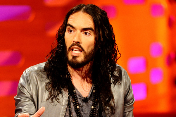 """Russell Brand """"Graham Norton Show"""" Spat (Recorded in 2012)"""