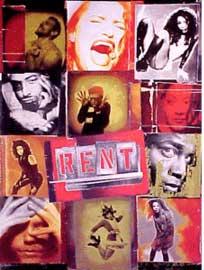 RENT Lost Original Broadway Cast Video Recording (1996)