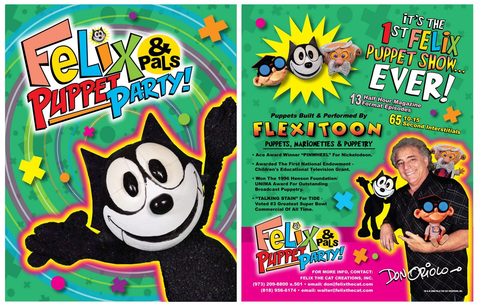 Felix & Pals Puppet Party! (Cancelled 2009 TV Series)