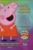 Peppa Pig Tickle U Poster