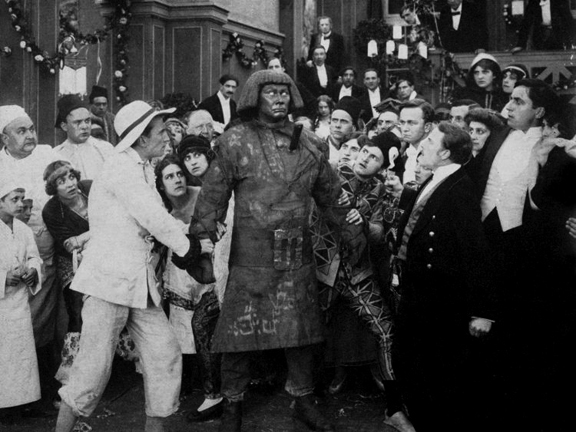 The Golem (Partially Lost 1915 Silent Horror Film)