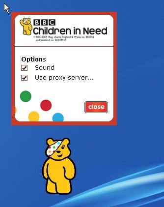 BBC Pocket Pudsey (lost software; 2008-2010)