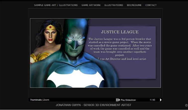 Justice League: Mortal (Scrapped Tie-In Movie Video Game)