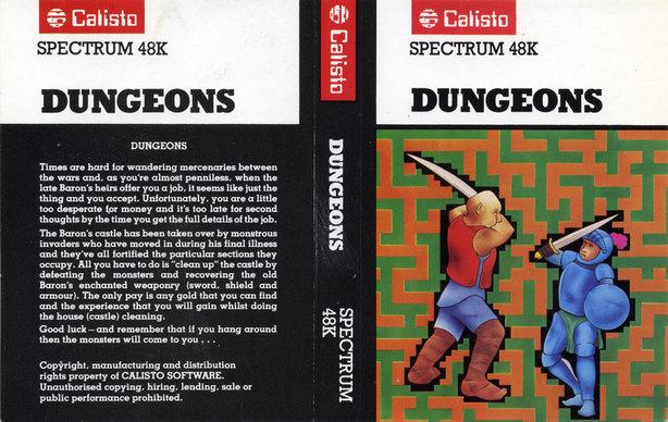 Dungeons(lost ZX Spectrum game)