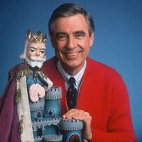 Mr. Rogers and King Friday