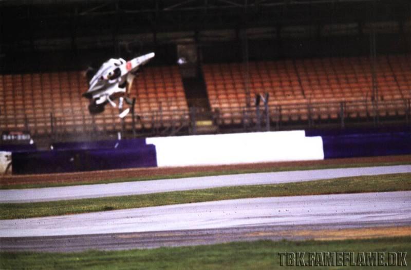 Ricardo Zonta Silverstone Crash Footage (Recorded in 2000)