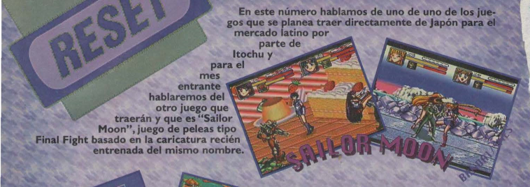Sailor Moon (unreleased SNES game; Existence Unconfirmed)