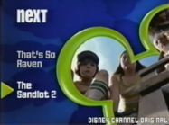 Disney Channel Bounce era - That's So Raven to The Sandlot 2