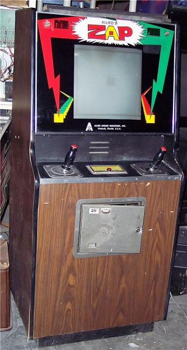 Zap(lost non-CPU arcade game)