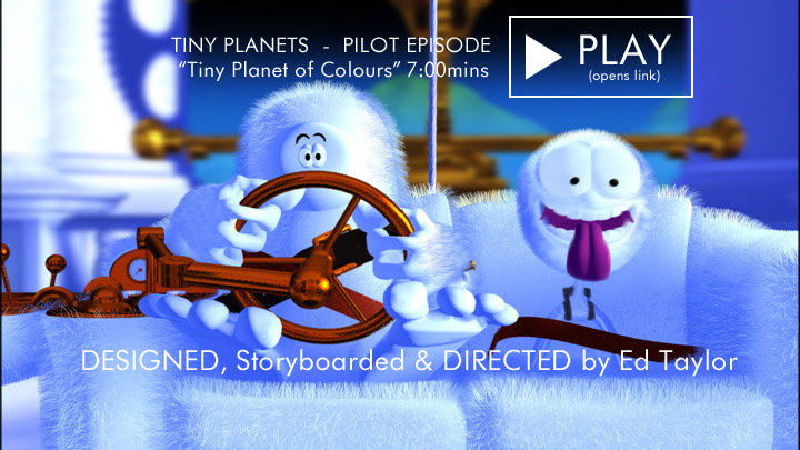 Tiny Planet of Colours (Tiny Planets Pilot)