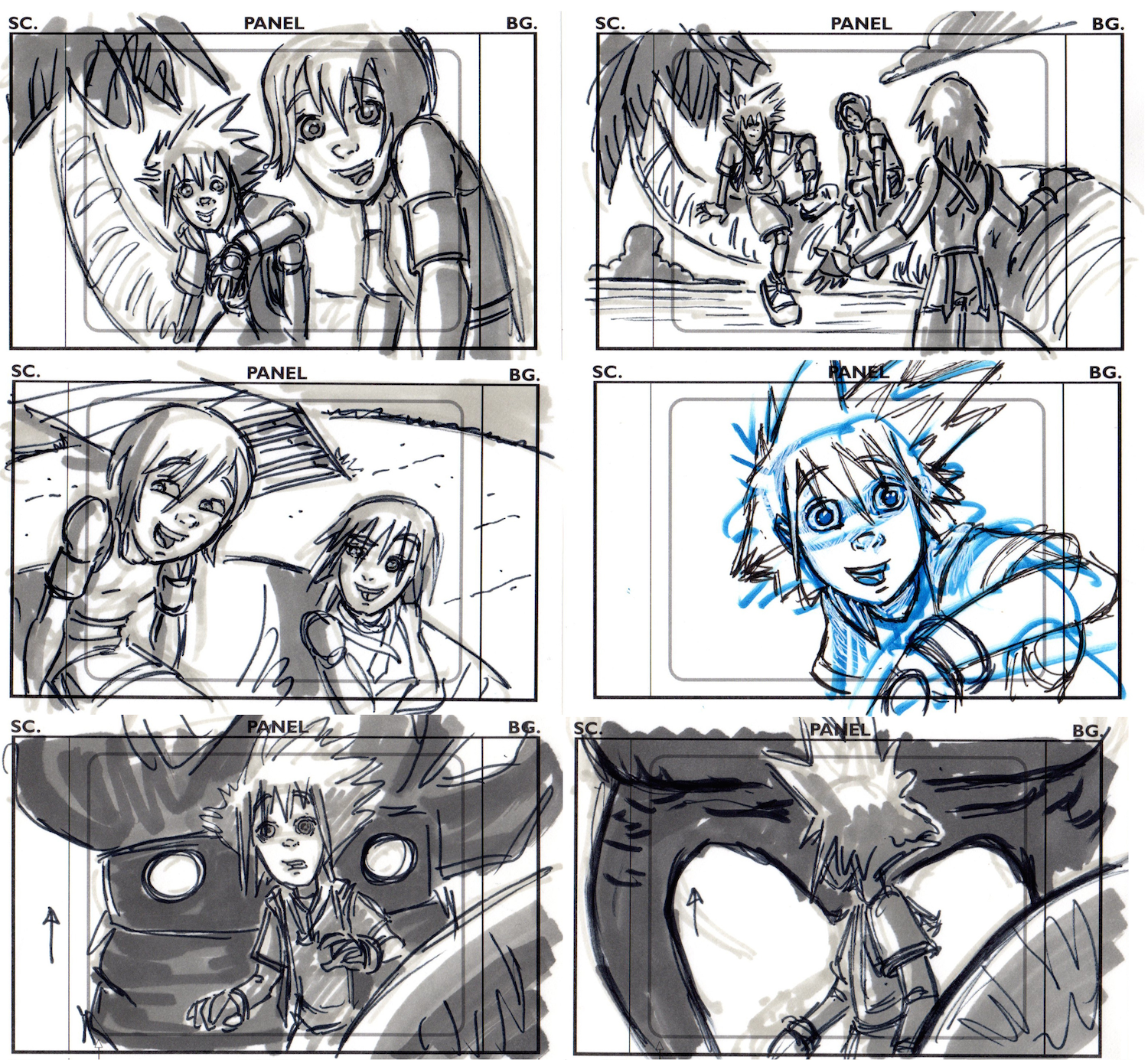 Kingdom Hearts (Unfinished and Cancelled Disney Show)