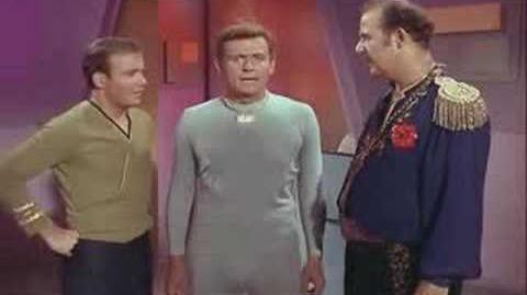 Capt. Kirk talks a robot to death