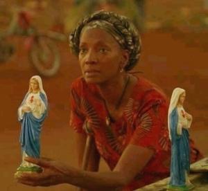Nigerianische Frau