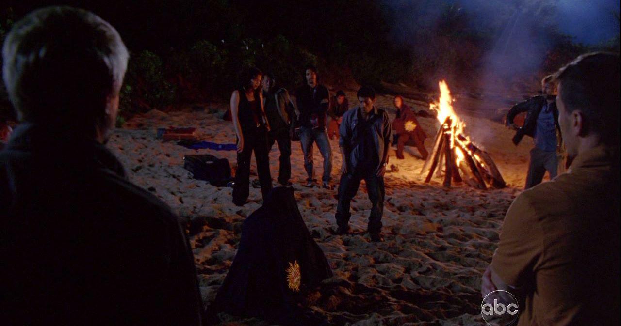 Campamento de la Isla Hidra