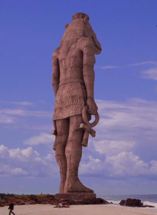 Sombra de la estatua