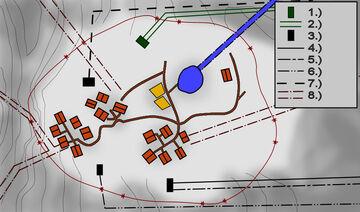 Karte der Tunnel