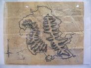 Rousseaus-Inselkarte