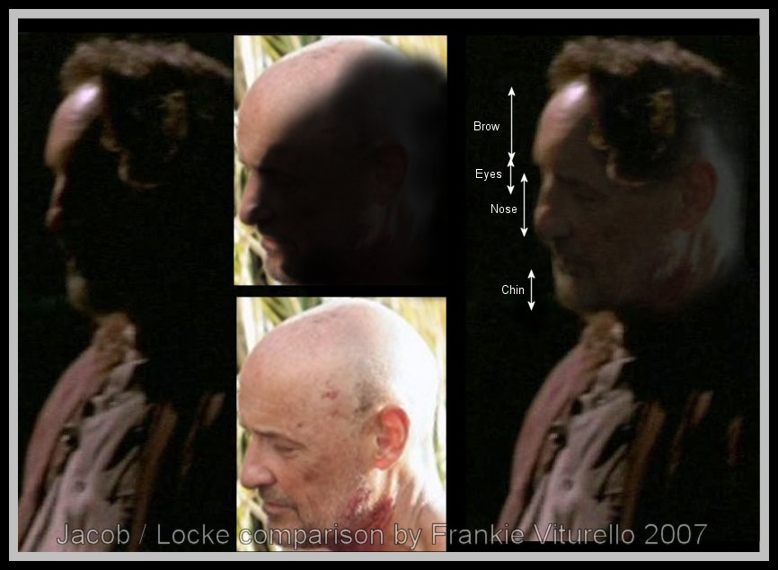 Jacob Locke Comparison - LOST / Dizi