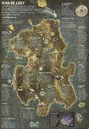 Mapa da ilha completo