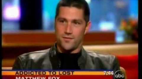 Matthew fox on GMA-2006