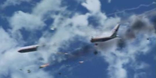 Luft-Bruch von Flug 815