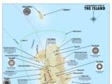 Jonah Adkins Karte der Inselstudie