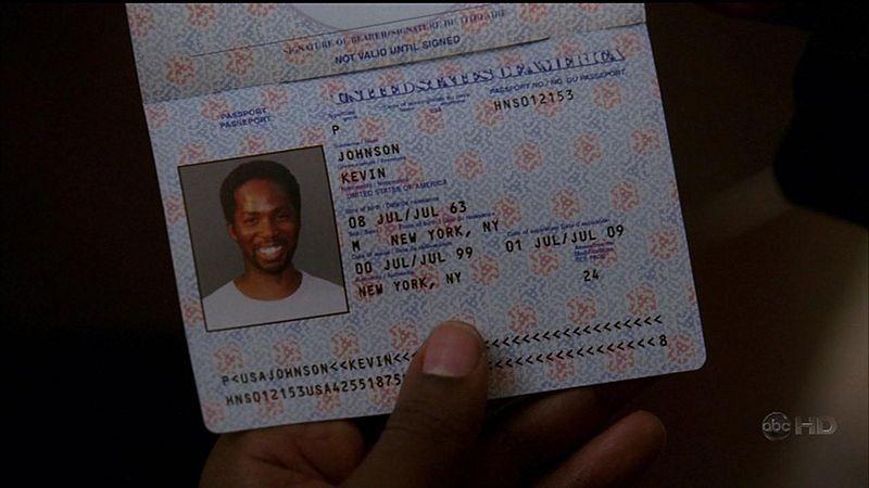 Passeport de Michael