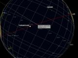 Flugweg von Oceanic 815