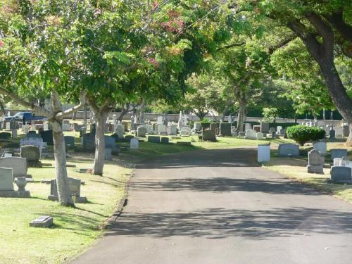 Cimetière d'Oahu