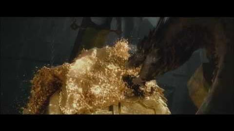 Hobbit Pustkowie Smauga - Scena końcowa