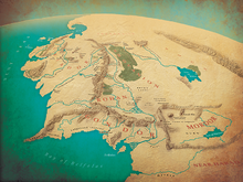 8. Middle Earth in the Third Age by Jamie Whyte
