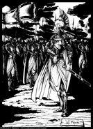 Noldor armies by LuisFBejarano