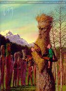 Ted Nasmith — Treebeard and the Entmoot
