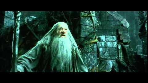 Gandalf Vs Sauron - The Hobbit The Desolation of Smaug - Extended Edition
