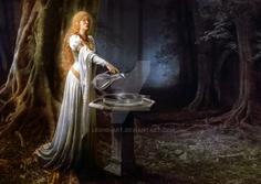The mirror of galadriel by leone art-d64apt1