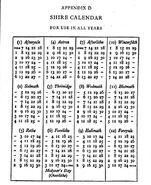 Shire-calendar