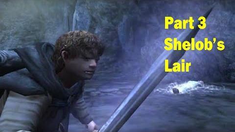 LotR Return of the King - Walkthrough Game - Shelob's Lair - Part 3-0