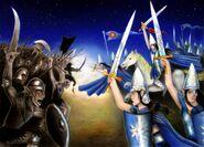 Battle under the stars by elven21-d5lj53w