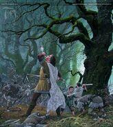 Ted Nasmith — Boromir's Last Stan