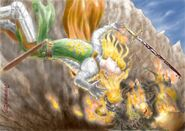 Death glorfindel