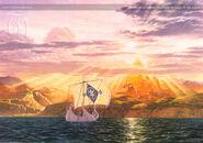 Ted Nasmith — The Shores of Valinor