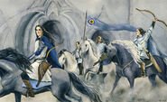Fingon with his horseback archers by filat debzmyp-pre