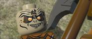 Lego lotr Orc at Gimli's mercy