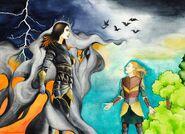 Finrod vs sauron by robleskazeppelin-d77o8x0